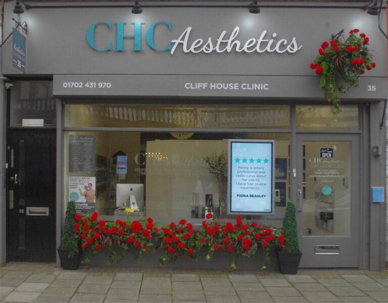 How to find CHC Aesthetics, 35 Alexandra Street Southend SS1 1BW